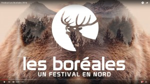 Teaser Boréales 2016 youtube