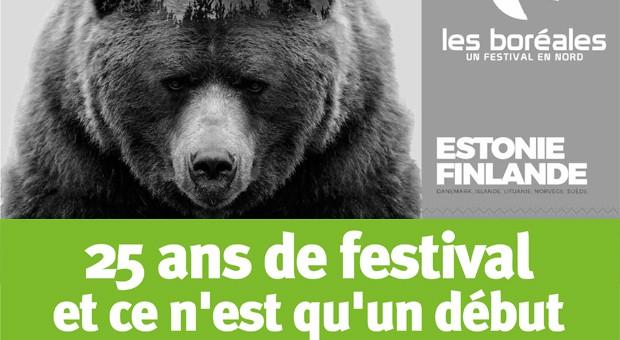 Dossier central sur le festival Les Boréales dans le livre échange de novembre