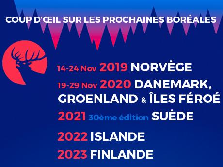 Prochaines éditions 2019