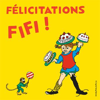 Felicitations Fifi