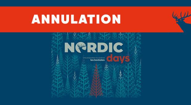 Annulation des Nordic Days proposés par le festival Les Boréales