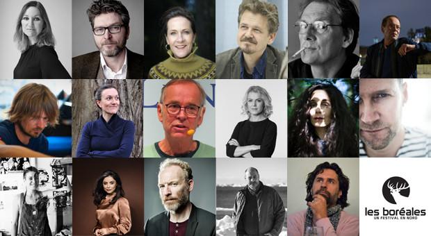 17 auteurs invités aux Boréales 2021 !