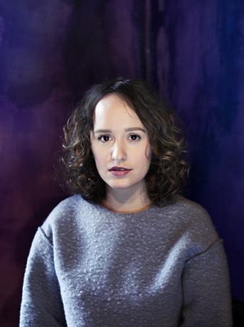 Olga Ravn © Lærke Posselt web portrait